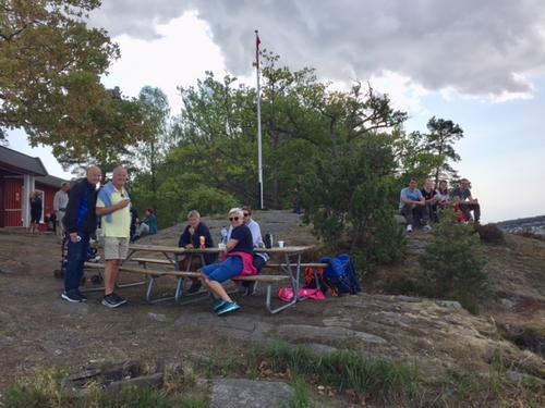 Padleklubbhyttas kafé søndag 26. august