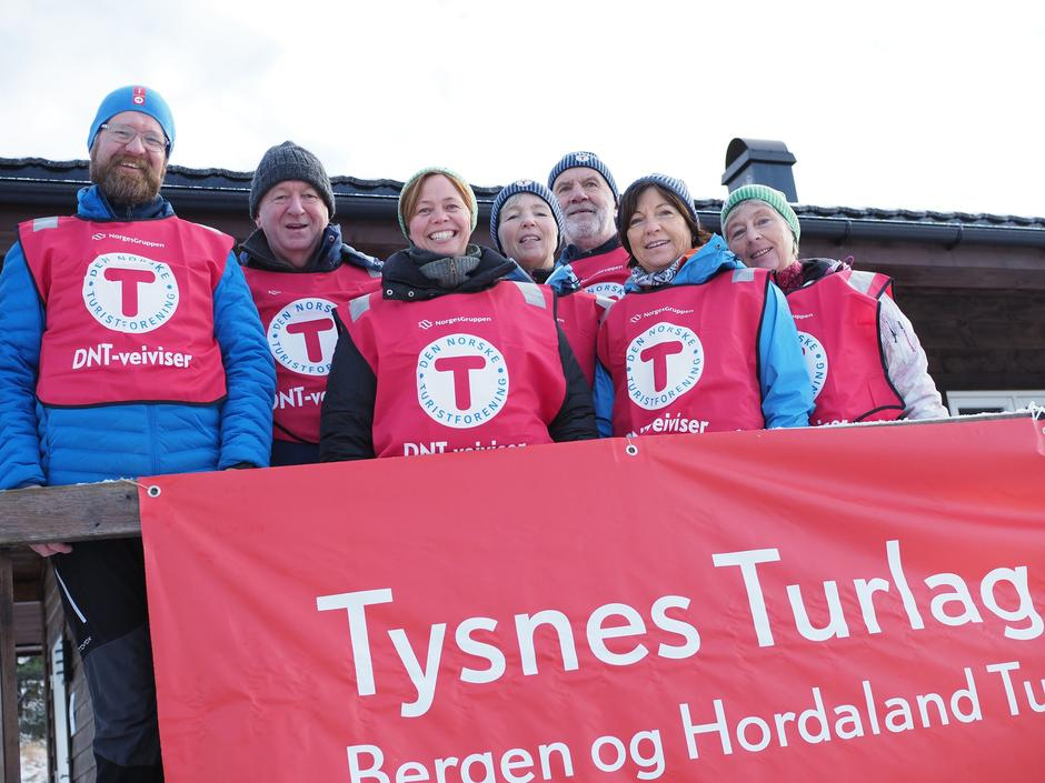 Blir du med som frivillig i Tysnes Turlag?