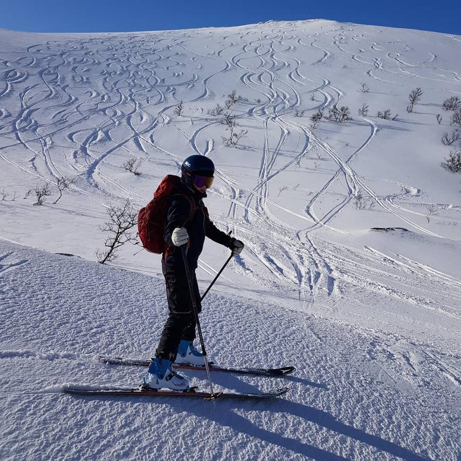 """Heia blir nok dekket av skispor også under """"Heia Freeride"""""""
