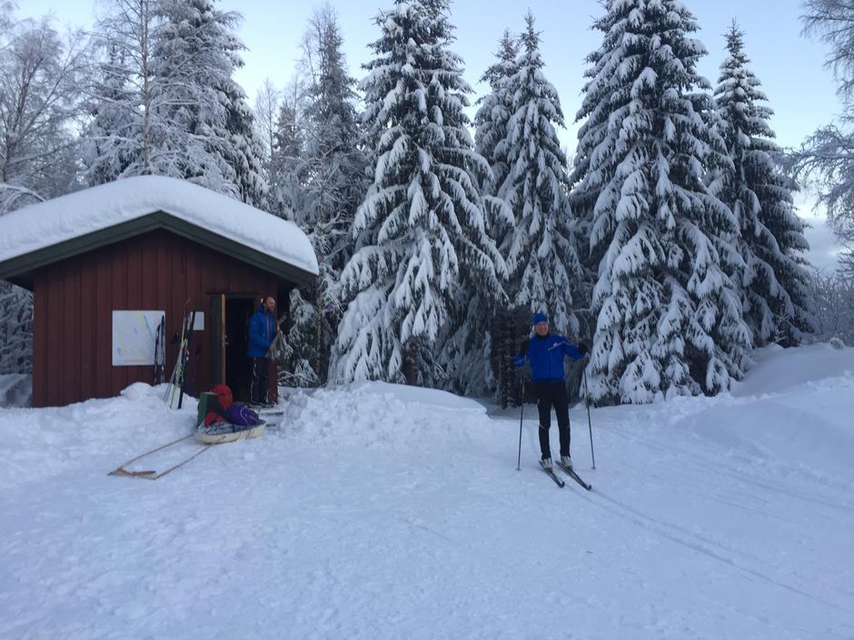 Skitur til Nordre Løken