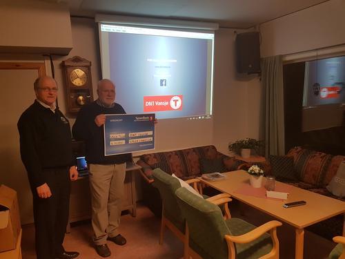 Hyggelig bidrag fra Våler Lions Club