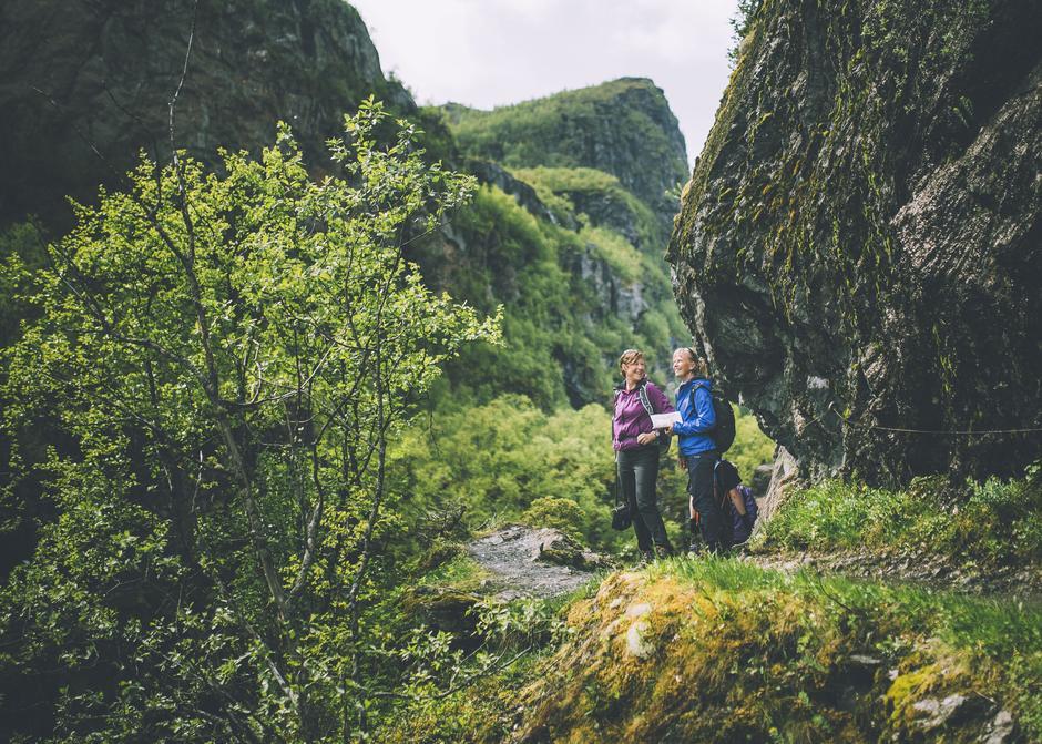 Fine forhold i Aurlandsdalen