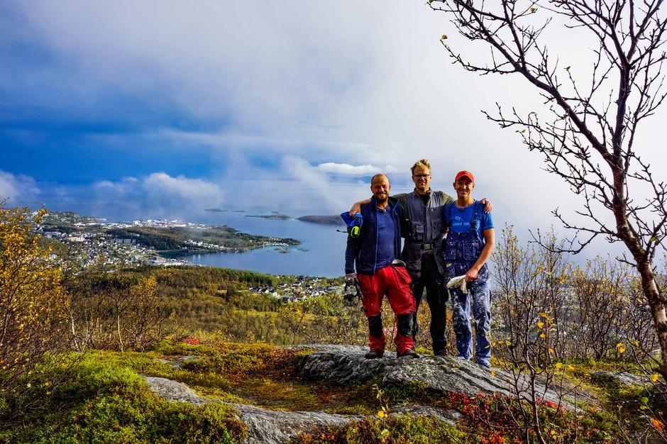 Eventyrlig oppussing´s gjengen: Ole, Gustav og Halvor.