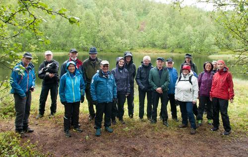 Seniorgruppa på sin første tur