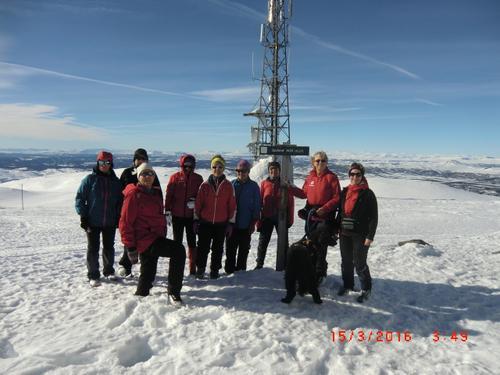 15. mars hadde Seniorgruppa skitur til Spåtind