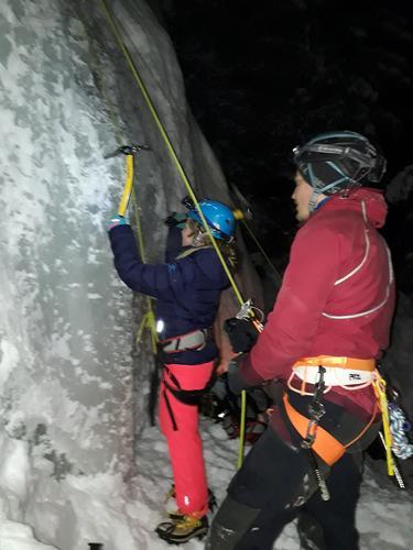 29. januar hadde DNT ung isklatring