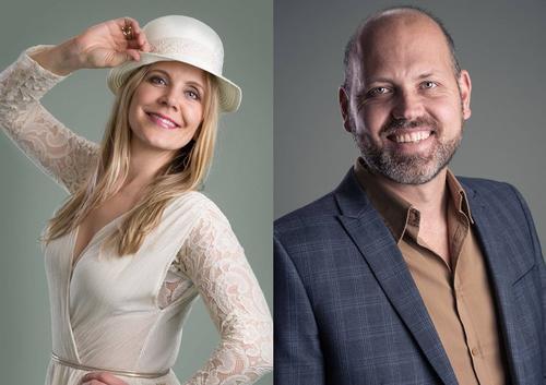 Hilde og Espen kommer for å underholde med sang og artige historier fra de siste 150 årene!