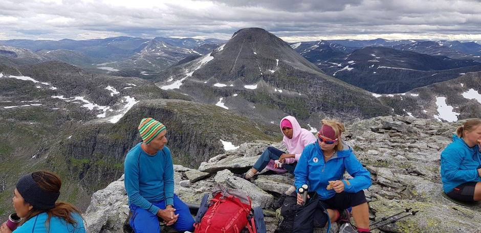 Fra tur til Fruhøtta og Pekhøtta