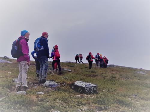 Midt i august hadde Seniorgruppa 3 dagers tur til Liomseter (Langsua)