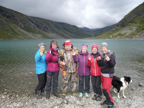 Tur til Svartdalsvatnet på Dalsida