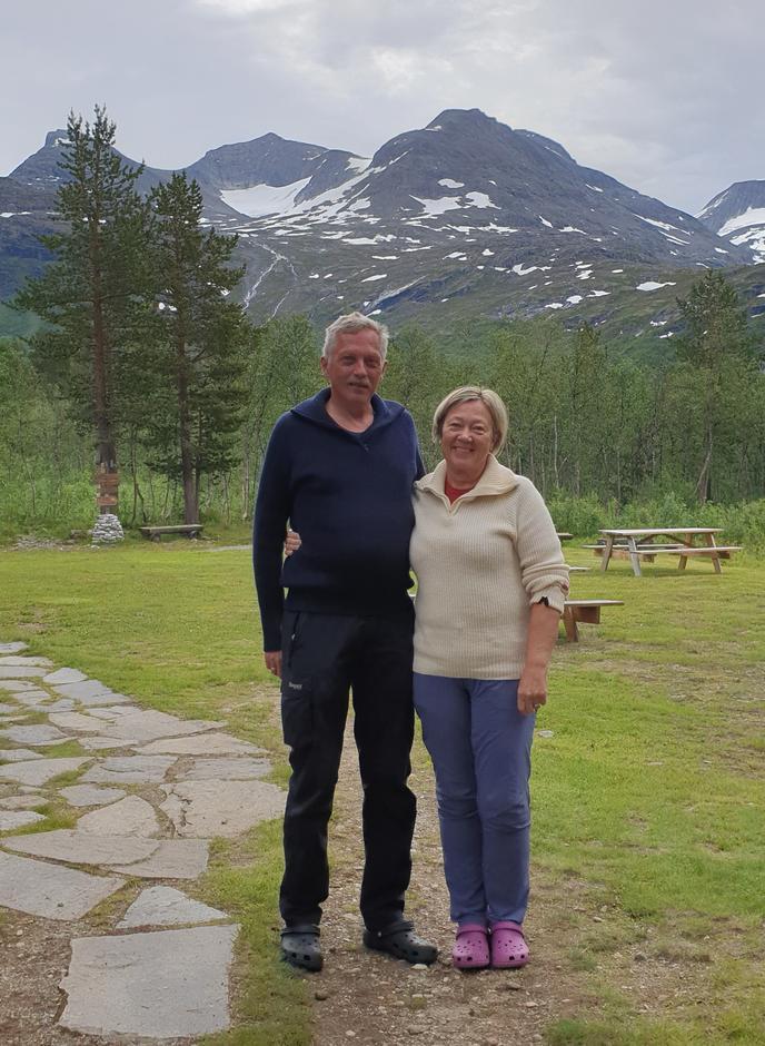 Per Kristian Dahle og Merete Søvik Dahle