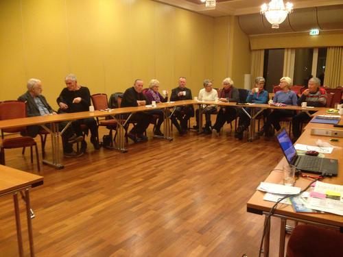 7. november hadde Seniorgruppa sitt høstmøte