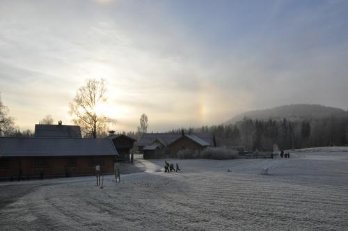 Vinterdag på Sæteren Gård