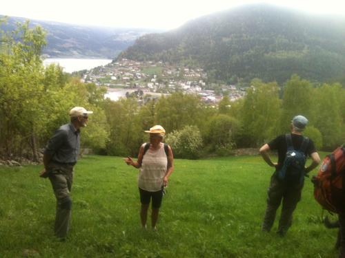 Tur i nærheten av Fagernes