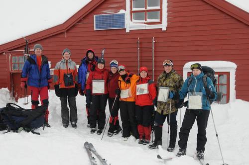 Vinterturlederkurs i regi av Bergen Turlag.
