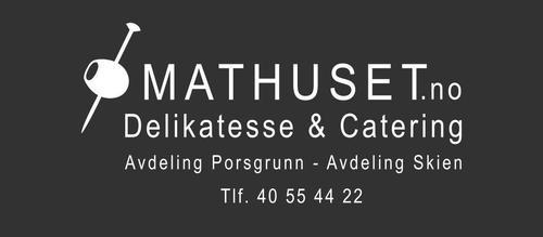 Turens matpakke sponses av Mathuset i Skien.