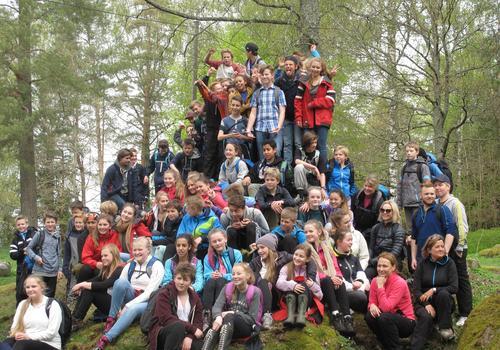 Opptur for 8. klassinger i Vestfold