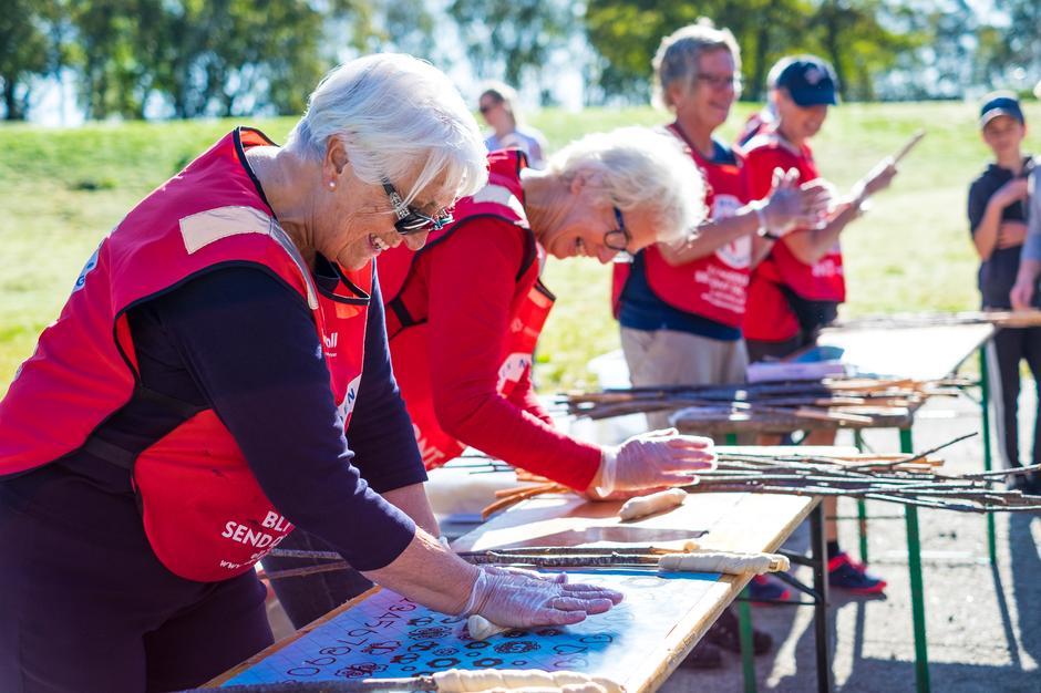 Dugnadsinnsatsen i Stavanger Turistforeningen gløder og når nå imponerende rekorder!