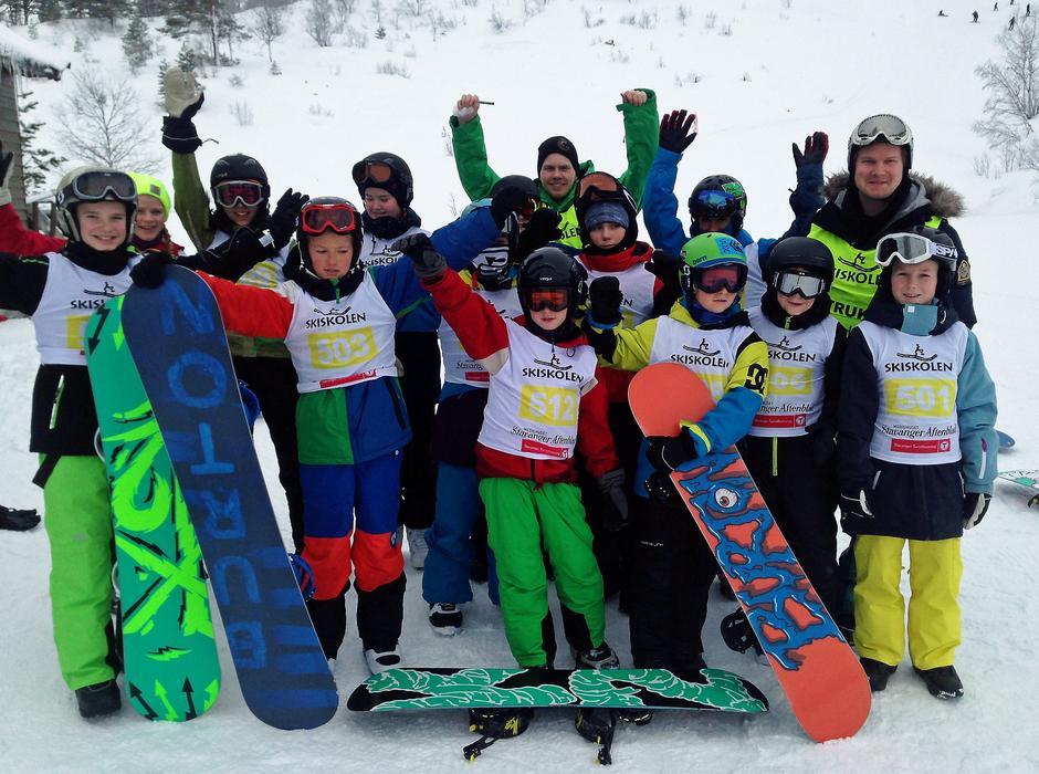 SKISKOLEN: Etter ferdig kurs på Haukeliseter fjellstue i romjula, kan du få jobb på skiskolen i februar 2016.