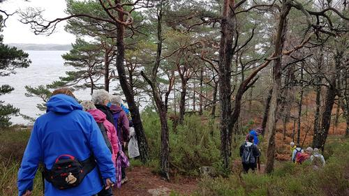Tur på Odderøya