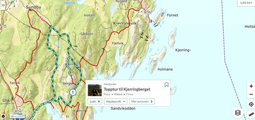 Ukas tur (29) - Topptur til Kjerringberget
