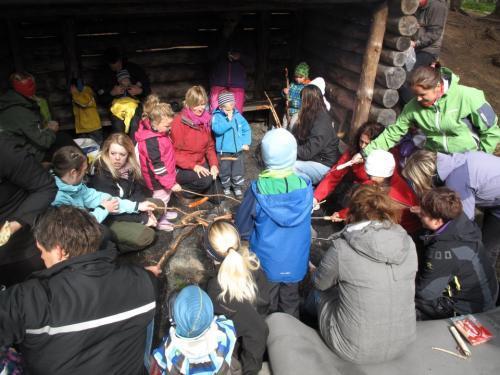 Eventyr- og popcornfest i Granåsen