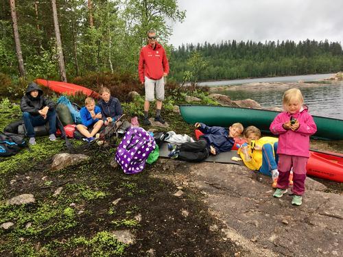 Barnas Turlag: Villmarkstur til Øksne