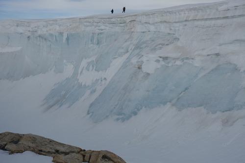 Iskanten ved Fonnabu.