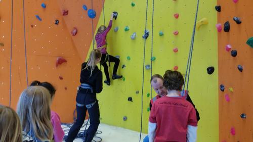 Populært klatrearrangement i vinterferien