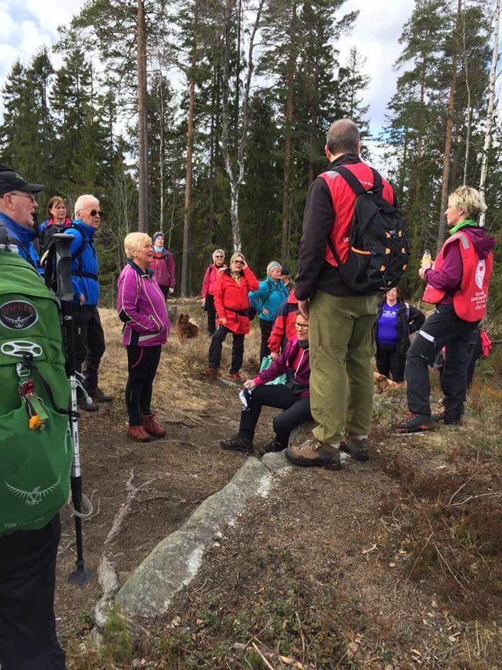Fra tidligere tur i Åsmarka, før nymerkingen.