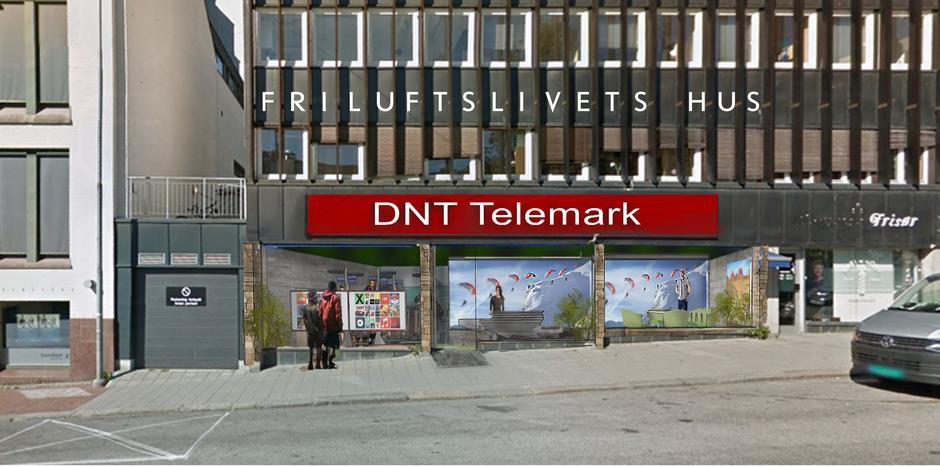 Skisse av mulig fasade i Torggata 15.