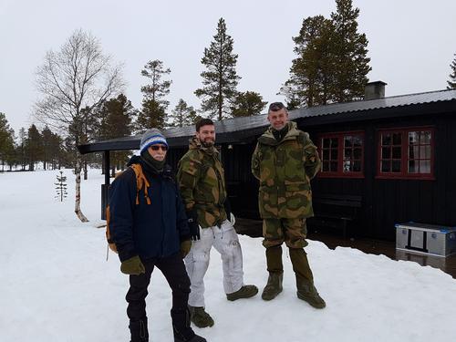 Nytt 12V anlegg på Kvitfjellhytta