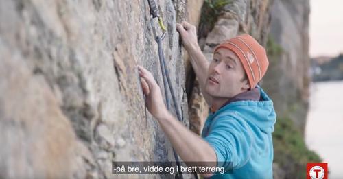 Se film fra aktiviteten i fjellsportgruppen
