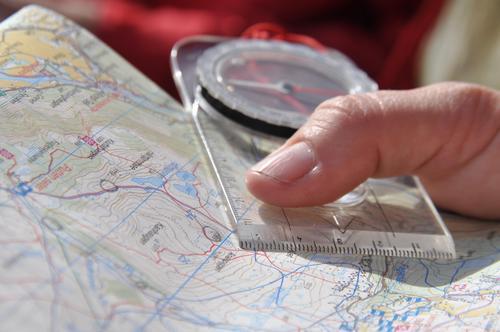 Kart og kompass