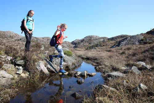 7-fjellsturen på Bømlo går gjennom flott og variert terreng.