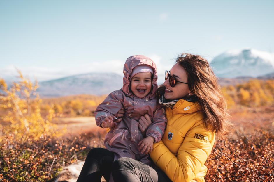 Friluftsliv betyr mye for Gosia og familien.