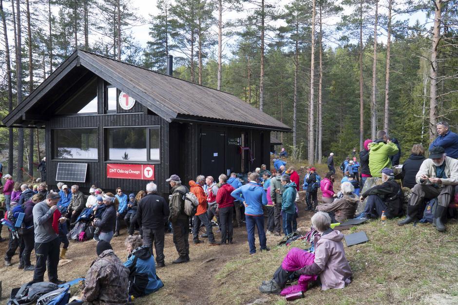 Åpningen av Huldreheim, Østmarka