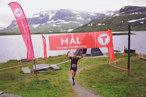 Vinnere Haukeli Ultra Trail 2016: Glenn Tore Løland