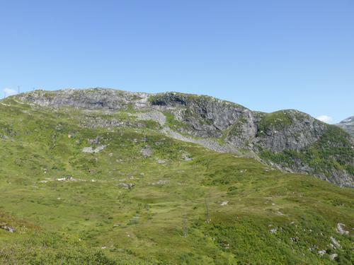 Utsikt mot Hålandsnipa