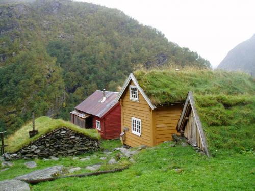 Sinjarheim i Aurlandsdalen.