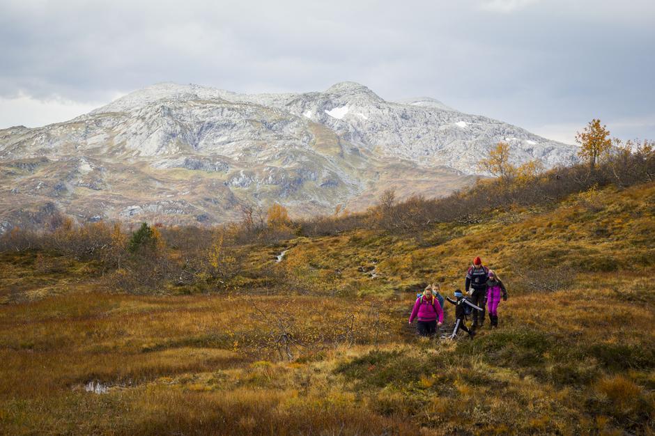 Fjellet lokker med høstfarger og frisk fjelluft. Her fra Bergsdalen.
