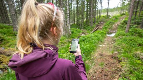 Gratis app med offline-kart til mobilen