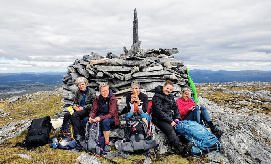 På toppen av Todalsfjellet