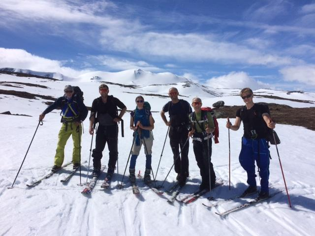 Turlagstur på Strynefjellet - på veg til Skridurlaupen