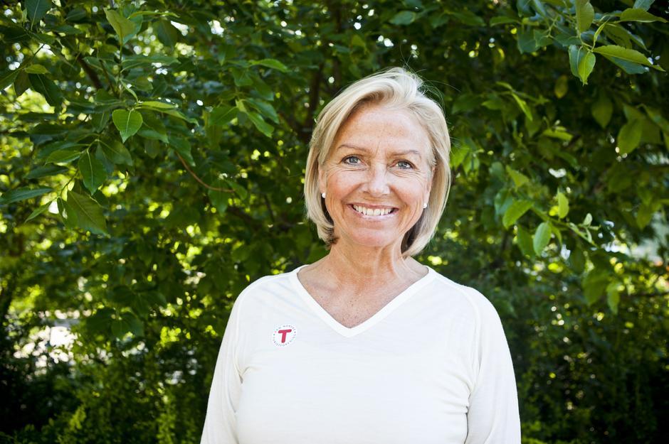 DNTs styreleder Berit Kjøll