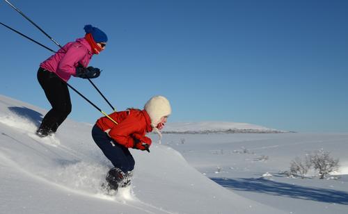 Aktiv vinterferie på Gjendesheimfor de fra 13-16 år