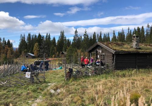 Åpen dag på Øvre Fjellstul