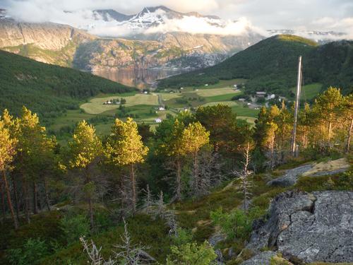 Tur over Blåfjell med seniorgruppa Bodø i 2020