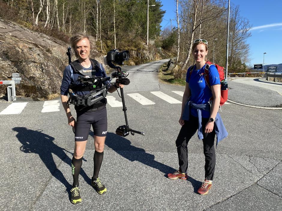 Petter Goga og Christine Kongsvik