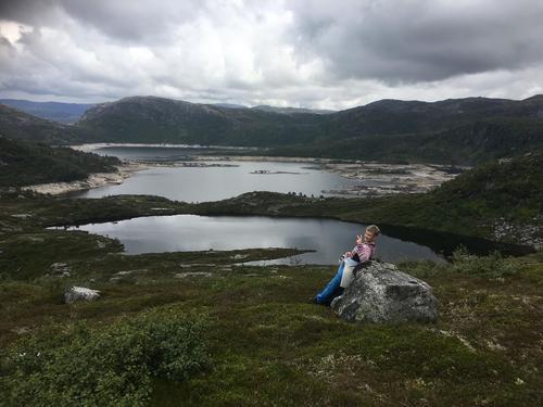 Utsikt over Stølsvatnet